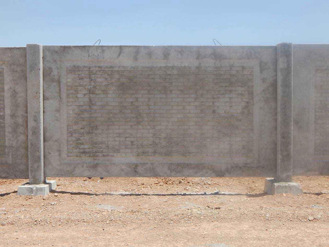 تولید دیوارهای پیش ساخته بتنی و قطعات بتنی پیش ساخته
